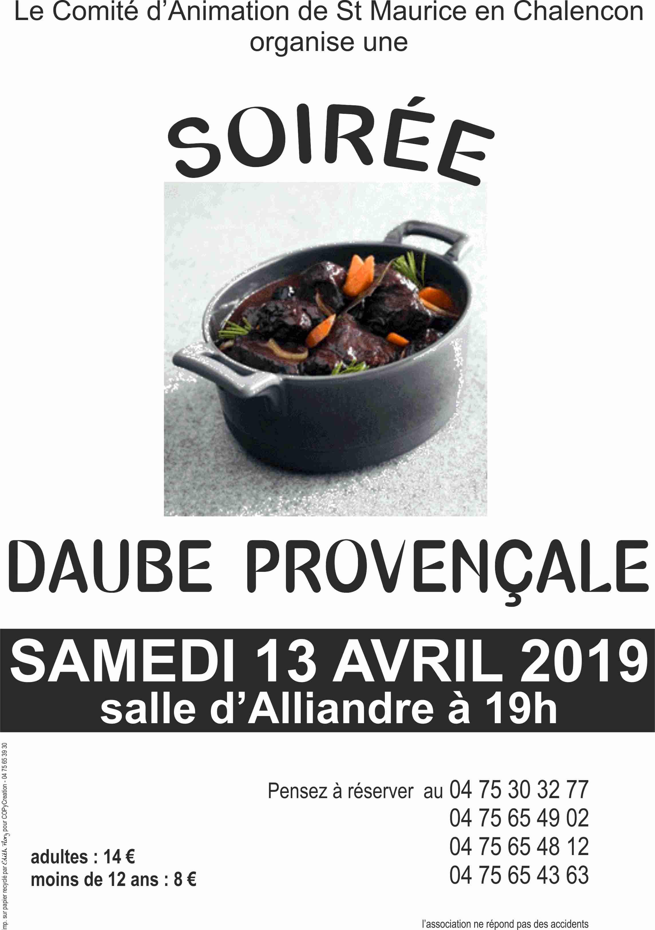 DAUBE 2019 Affiche
