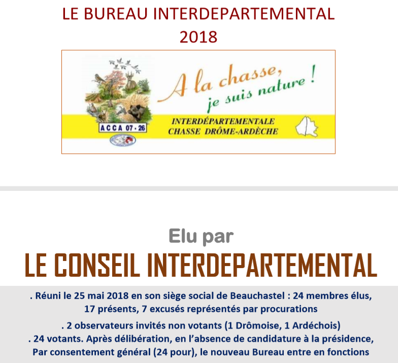 Bureau Inter 2018