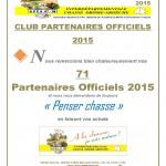 CLUB PARTENAIRES OFFICIELS 2015 site