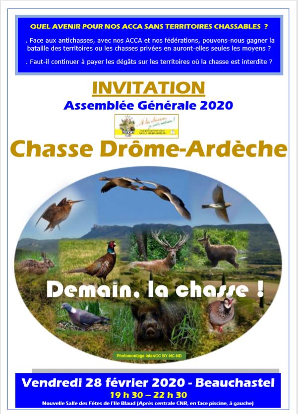 Affiche AG 2020 Le lien
